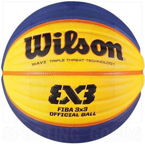 """B0533 Wilson FIBA 3X3 Official Game Outdoor Basketball Size 6 (28.5"""")"""