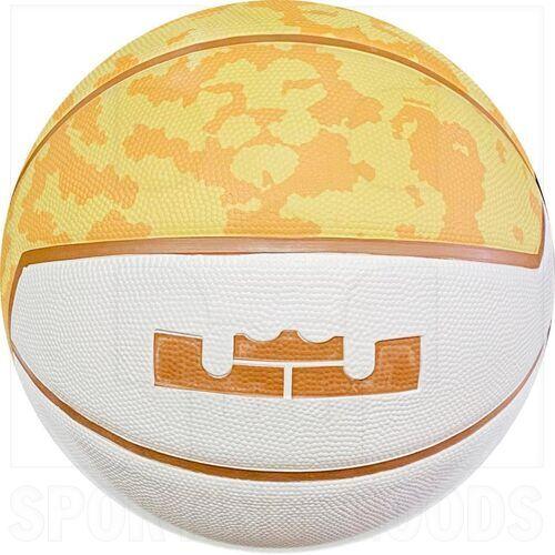 "LEBRON-925-7 Nike Lebron James Basketball Ball Playground 4P Size 7 (29.5"")"