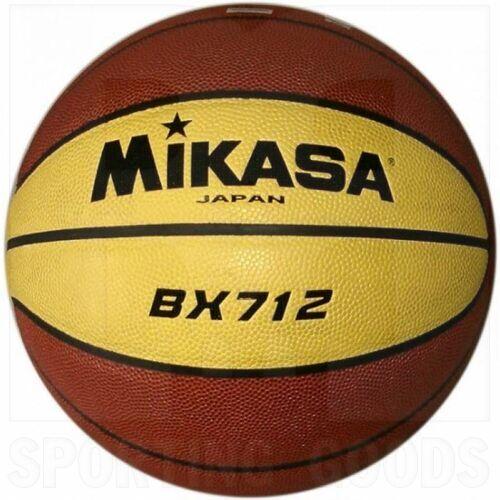 "BX712 Mikasa BX712 Composite Basketball Size 7 (29.5"") Yellow/Brown"