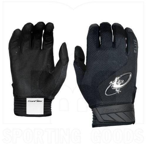 KE210012 Lizard Skins Komodo Elite V2 Batting Glove Jet Black