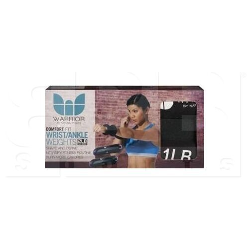 WAWW-2 Warrior Ankle/Wrist Weights 1LB (2LB TOTAL)