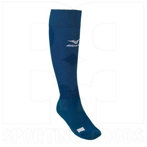 370143.5151.05.M Mizuno Performance Over the Calf Socks G2 Navy