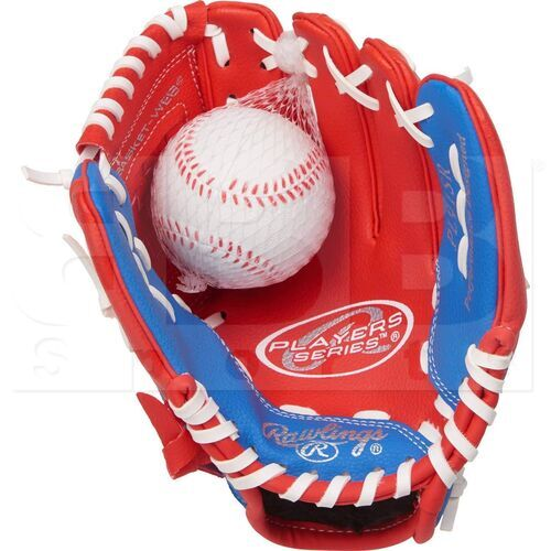 PL91SR Rawlings Right Hand Throw Players Series (9 Inch) Baseball/Softball Glove with Soft Core Ball