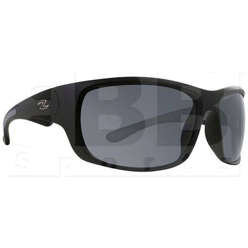 ZZ-EY-UV-CAPI-BK-SMK Zol Capitan Sunglasses Black W/Smoke Lens