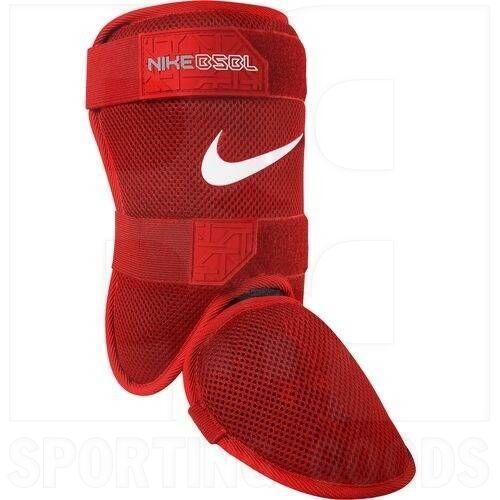 ENIBB52 Nike Adult  BPG 40 Batter's Leg Guard 2.0 Protege-Jambes 2.0 Red