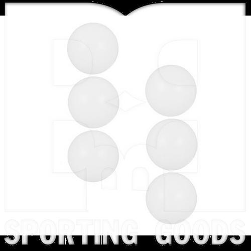 TB1037-6PCS VKM Pelotas de Tenis de Mesa de Blancas de Tres Estrellas - Paquete de 6 Piezas