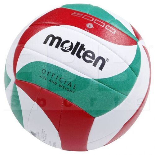 V5M2000 Molten 2000 Volleyball Training Ball White/Green/Red Size 5