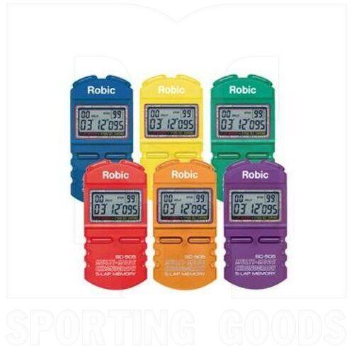 505 Robic 12 Memory Stopwatch Random Color (Unit)