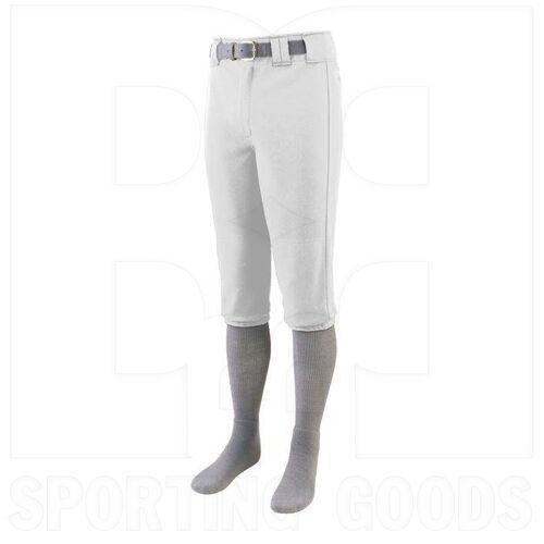1452.005.2XL Augusta Series Knee Length Softball/Baseball Pant White