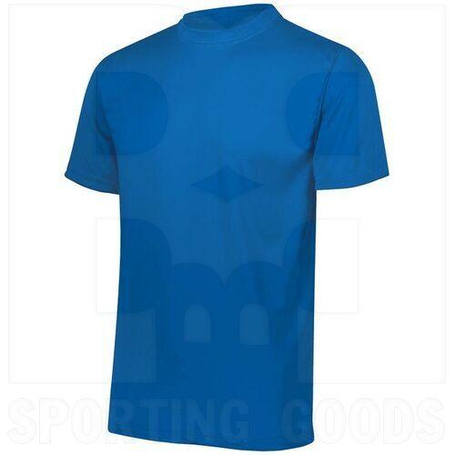 791.060.M Augusta Youth Wicking MIcrofiber T-Shirt w/ Self-Fabric Collar Royal