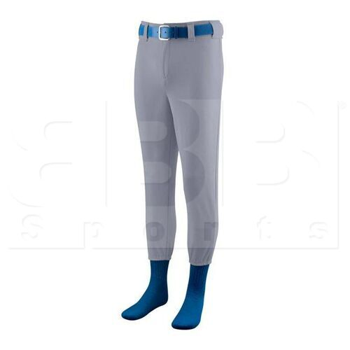 811.053.L Augusta Softball/Baseball Pant with Elastic Cuffs Blue Grey