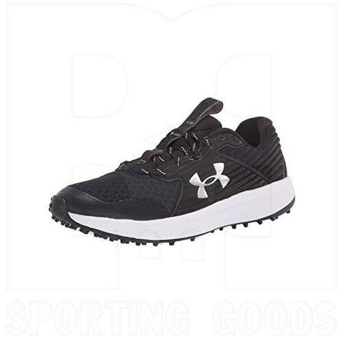 3023000-003-13 Under Armour Men's Yard Turf Shoes Black