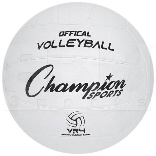 VR4 Champion Sports Rubber Volleyball Size 4