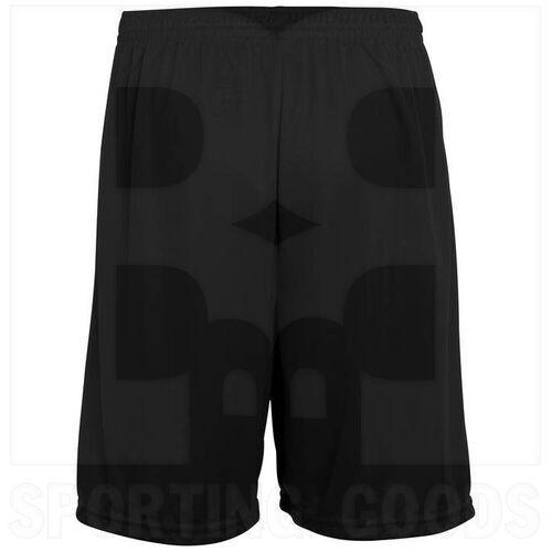 1420.080.S Augusta Training Short w/ Covered Elastic Waistband Drawcord Inside Black