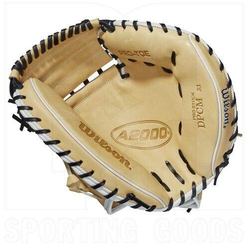 """WBW10011533 Wilson A2000 CM33 Baseball Catcher's Mitt 33"""" RHT"""