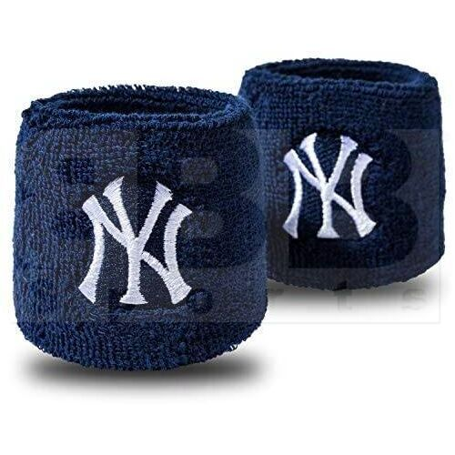 "2735F10P6 Franklin MLB New York Yankees 2.5"" Wristband"