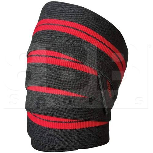 46300 Harbinger Red Line Knee Wraps for Weightlifting