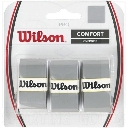 Z4014-SI Wilson Pro Tennis Racket Overgrip Set of 3 Silver