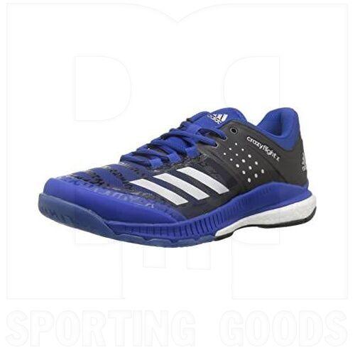 B01NALR6VH Adidas Crazyflight X Shoes Royal/Silver/Black