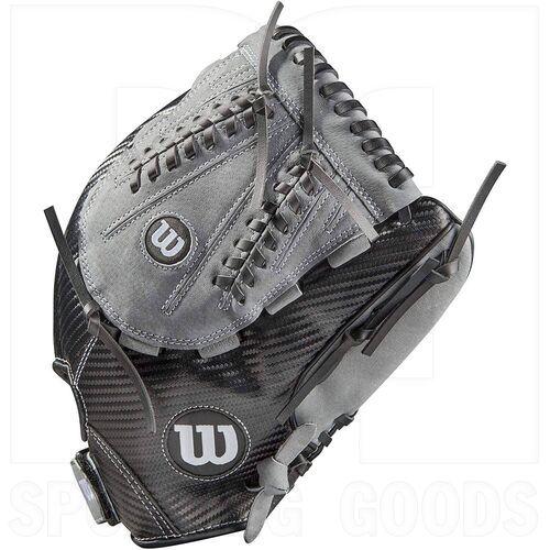 "A03RS2113 Wilson A360 Baseball Glove 13"" Black/Gray"