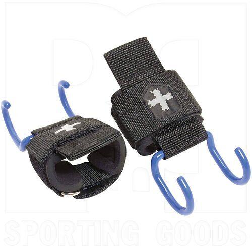 21900 Harbinger Weight Lifting Hooks Black/Blue