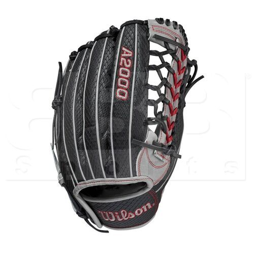 """WBW1001101225 Wilson A2000 Pedroia Fit Baseball Outfield Glove 12.25"""" RHT"""