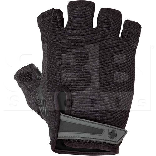 15550 Harbinger Power Weightlifting Gloves with Stretch Back Mesh and Leather Palm (Pair)