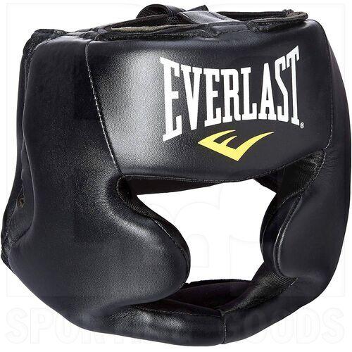 4022 Everlast Boxing Protective Headgear Black