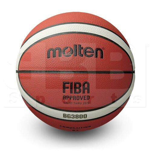 """G38-7 Molten B7G3800 Polyurethane Composite Leather Basketball FIBA & FBPUR Approved Official Size 7 (29.5"""")"""