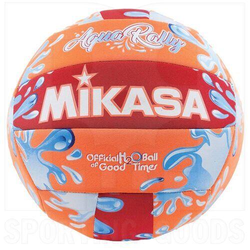 VAR-OR Mikasa Water Resistant Aqua Rally Volleyball Orange 5