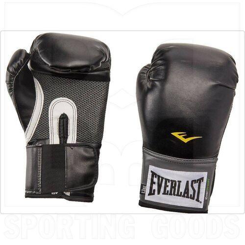 1200013 Everlast Pro Style Training Boxing Gloves Black 12oz