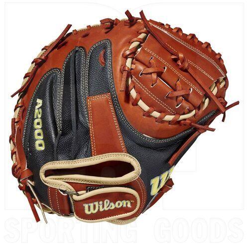 """WBW10011834 Wilson A2000 1790SS Baseball Catcher's Mitt 34"""" RHT"""