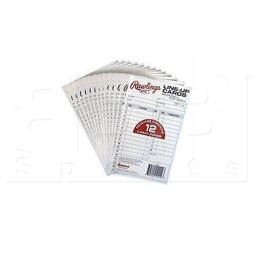 17LU Rawlings Baseball & Softball System 17 Lineup Cards