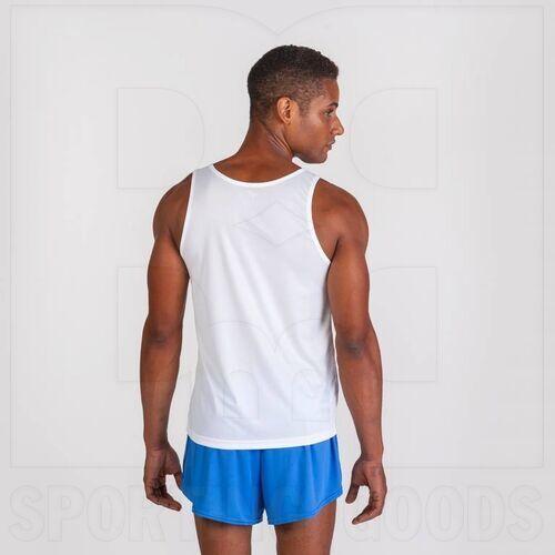 101033.207.M Joma Sleeveless Race Singlet White/Royal