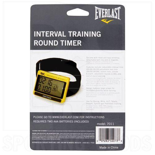 7011 Everlast Interval Training Round Timer
