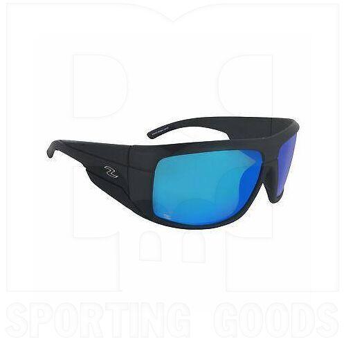 ZZ-EY-PL-BAC-WB-BL Zol Polarized Sunglasses w/ Blue Lens