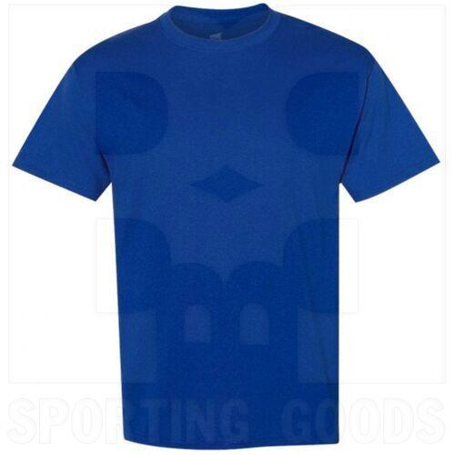 5170RYS Hanes Comfort Ecosmart Heavyweight Crewneck Tee Short Sleeve T Shirt Royal