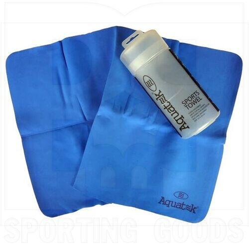 AQU-1002-ASST-BL Aquatek Toalla Deportiva Azul  66 x 43 cm