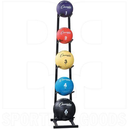 MBR1 Champion Medicine Ball Tree Rack Up To 5 Balls Black