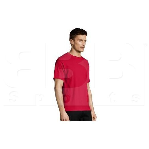 5170RDS Hanes Comfort Ecosmart Heavyweight Crewneck Tee Short Sleeve T Shirt Red