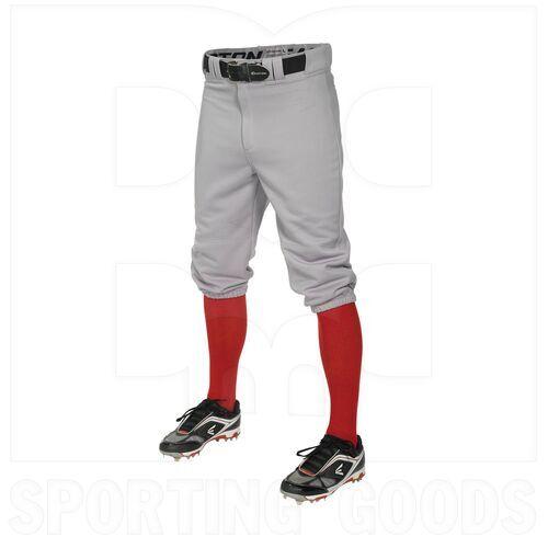 KNIA-GR-XL Easton Pro Baseball/Softball Knee Pant Grey