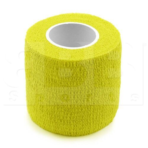 """CT09 BBB Sports Athletic Cohesive Wrap Tape 2"""" Inch Yellow"""
