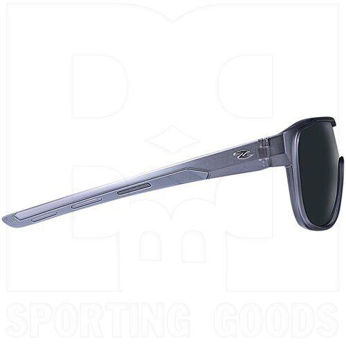 ZZ-EY-PL-EXPL-FGR-SMK Zol Polarized Explorer Sunglasses Grey w/ Smoke Lens