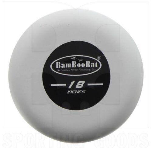 "HWBB18T BamBooBat One Hand Training Bat Baseball or Softball Black/White 18""/18oz"