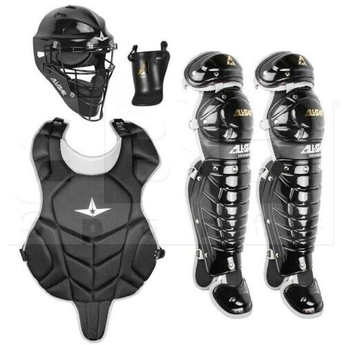 CKBX-912LS All-Star Youth Catcher's Gear Equipment Set Black (Ages 9-12)