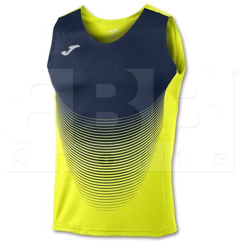 100950.063.L Joma Sleeveless T-Shirt Elite VI Yellow/Navy