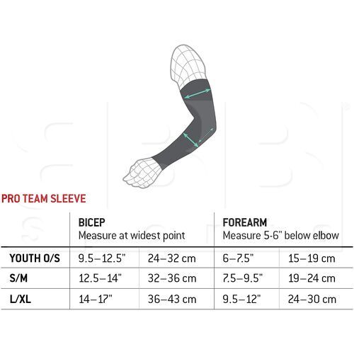 EP0502019 G-Form Pro Team Padded Compression Sleeve