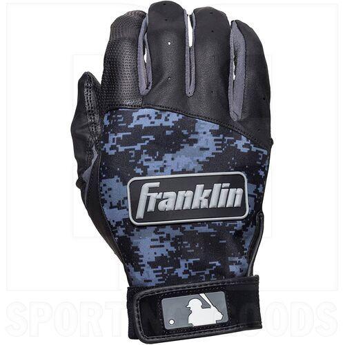 21031F4 Franklin Sports MLB Digitek Baseball Batting Gloves Black