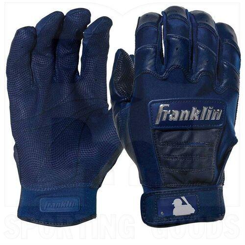 20592F5 Franklin Sports MLB CFX Pro Baseball/Softball Batting Gloves Navy