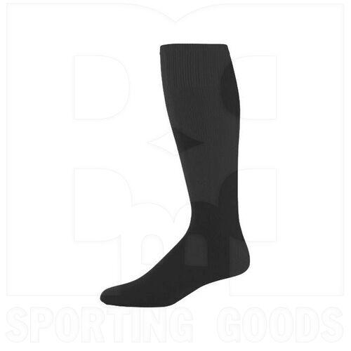 328030.080.L High Five Athletic Knee-Length Socks Pair Black